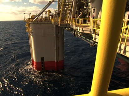 VIDEO: Oil Rigs Dig Under the Ocean