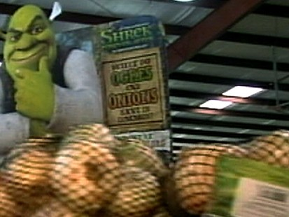 Cartoon Ogre Gives Onion Sales a Boost