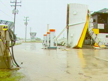 VIDEO: Steve Osunsami rode out the hurricane and reports on the aftermath.