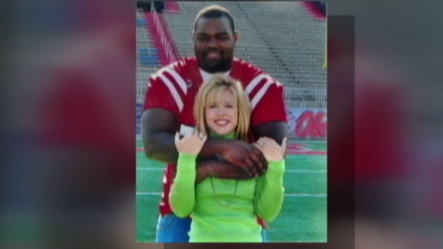 """VIDEO: The story that inspired """"The Blind Side"""" has a real-life happy ending."""