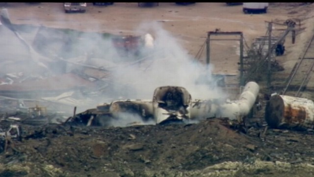 VIDEO: Tragedy outside Waco, Texas, following mysterious blast involving dangerous chemicals.