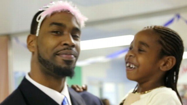 VIDEO: Little girls attend father-daughter dance in prison.