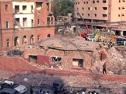VIDEO: Lahore Blast Leaves at Least 30 Dead