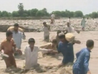 VIDEO:Jim Scuitto is in Pakistan where two million flood victims are now homeless.