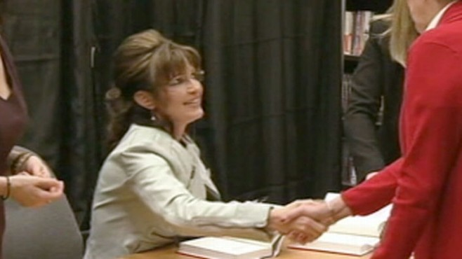 "VIDEO: Sarah Palin criticizes Bush ""blue bloods,"" and blames them on the economy."