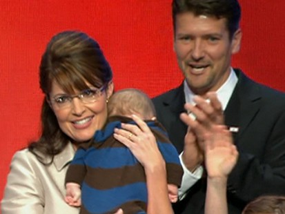 Palin Discusses Disabilities on Pa. Campaign Stop.