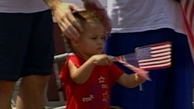 VIDEO: New study suggests patriotic parades influence childrens political views.