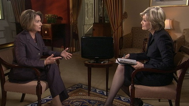 VIDEO: Diane Sawyer interviews Speaker Nancy Pelosi after her party?s election loss.