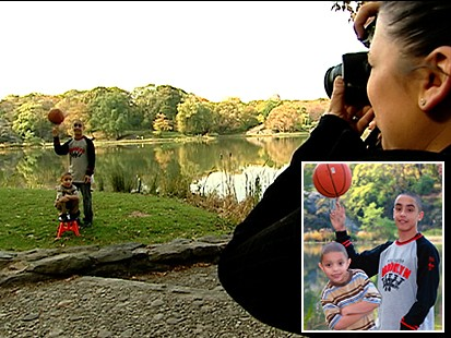 VIDEO: Family Portraits for Homeless Families