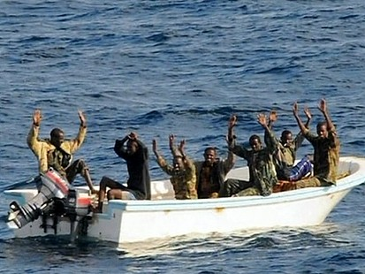 VIDEO: Somali Pirates Captured