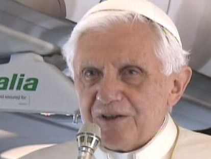 VIDEO: Pope Benedict made his strongest statements yet the sex abuse scandal.