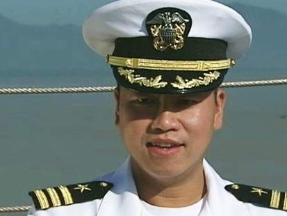 VIDEO: Vietnam refugee becomes U.S. Navy captain