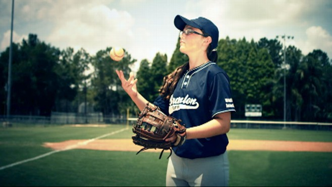 """VIDEO: This 13-year-old is bringing new meaning to the phrase """"throw like a girl."""""""