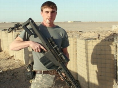 VIDEO: The brave soldiers parents recall he was proud to save other soldiers lives.
