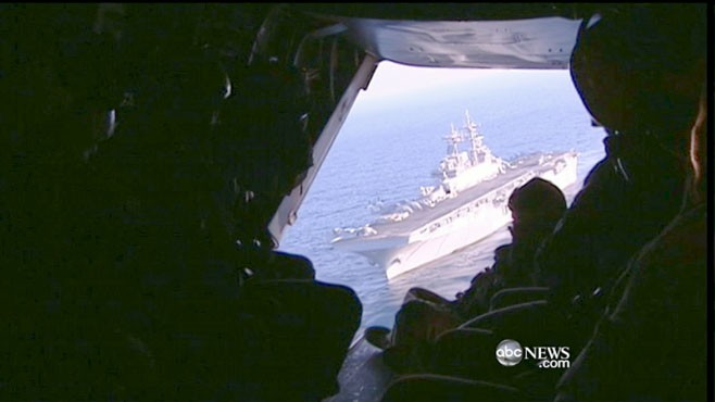 VIDEO: Martha Raddatz gets a behind-the-scenes look at U.S. operations in Libya.