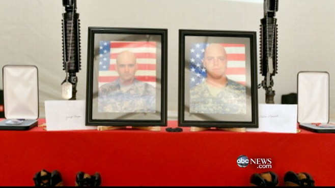 VIDEO: Eight military men and a contractor killed by Afghan air force officer.