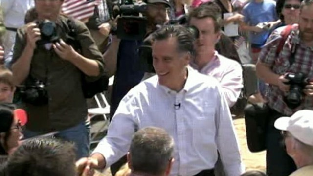 VIDEO: GOP candidate Mitt Romney leads in ABC News/Washington Post poll.