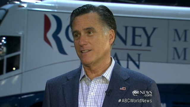 VIDEO: GOP candidate campaigns from behind President Obama in battleground state of Ohio.