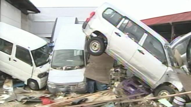 VIDEO: Disaster in Japan
