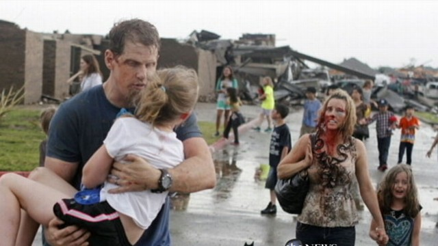 VIDEO: Family Survives Direct Tornado Hit in Oklahoma