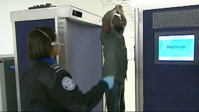 VIDEO: A rebellion is growing in Americas airports over revealing body scan machines.