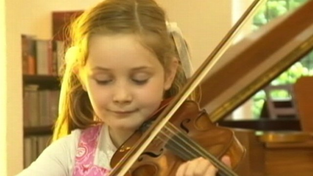 VIDEO: Worlds newest musical genius, Alma Deutscher, composes her own opera at the age of 7.