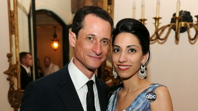 VIDEO: Huma Abedin, wife of Rep. Anthony Weiner, is pregnant.