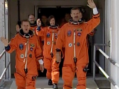 VIDEO: Atlantis Astronauts Have the Right Stuff