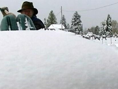 VIDEO: Autumn Snow Blankets Pennsylvania