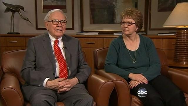 VIDEO: Billionaire Warren Buffetts secretary becomes face of debate over taxes.