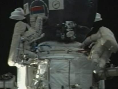 VIDEO:Space Station Danger