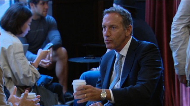 VIDEO: Howard Schultz outlines his plan to help get America back on its feet.
