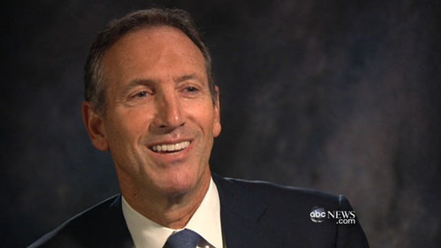 VIDEO: Howard Schultz pitches his new idea for creating jobs in America.