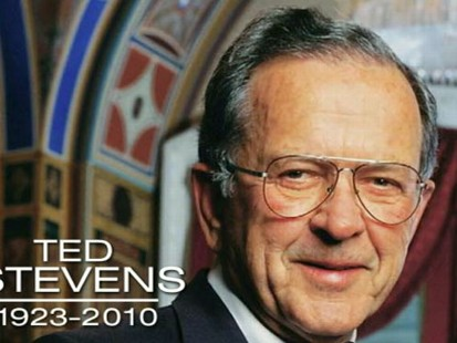 VIDEO: Ted Stevens Dies in Alaskan Plane Crash