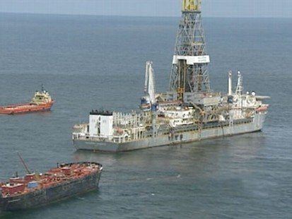 VIDEO: Storm taking aim at spill site could undo weeks of work to cap oil leak.