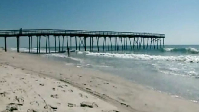 VIDEO: Hurricane watches have been issued for most of North Carolinas coast.