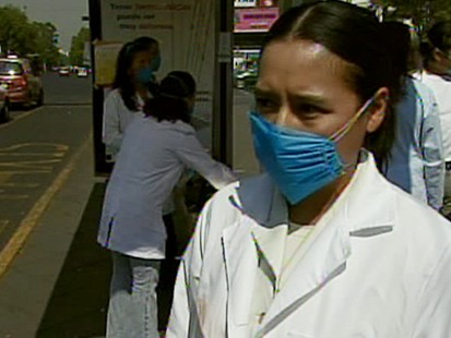 VIDEO: Fear over swine flu
