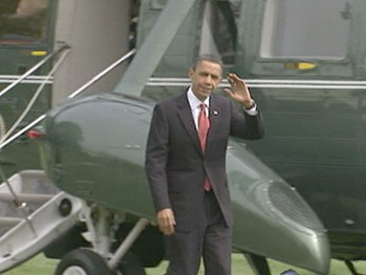 VIDEO: The president throws his political muscle behind tighter controls on banks.