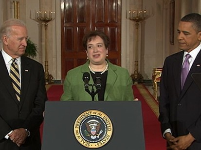 VIDEO: Barack Obama Selects Elena Kagan as His Supreme Court Nominee