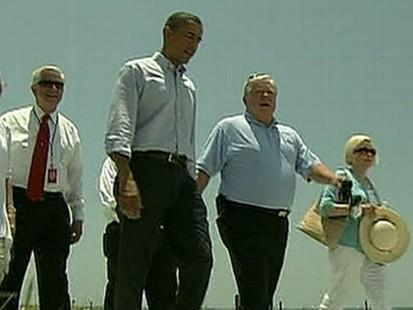 VIDEO: Obama Visits the Gulf Coast