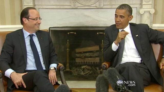 VIDEO: Obama Hosts Camp David Retreat on Europe