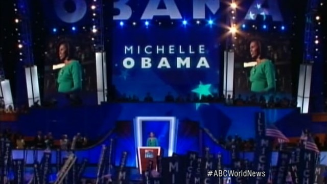 VIDEO: First lady hopes to remind voters about the presidents values and motivations.