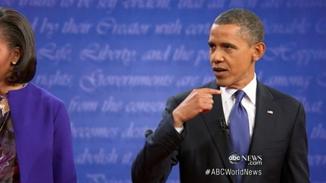 VIDEO: New poll shows Mitt Romney pulling ahead after presidential debate.