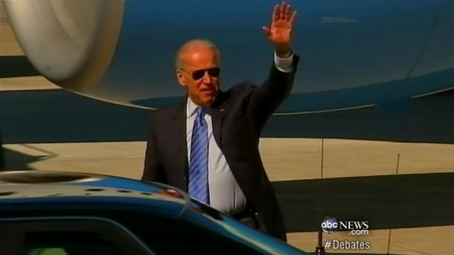 VIDEO: Pressure on Joe Biden to bring energy to his faceoff with VP candidate Paul Ryan.