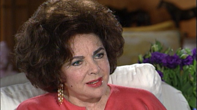 VIDEO: Elizabeth Taylor describes what she saw during seven minutes of not breathing.