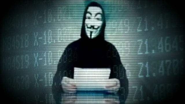 VIDEO: The mysterious group of hackers warned that this is just the beginning.