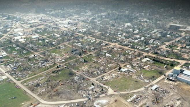 VIDEO: Tornado Destroys Small Town