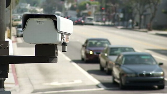 """VIDEO: """"Red light cameras"""" being outlawed after claims they actually cause accidents."""