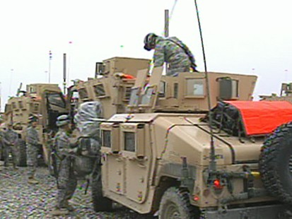 VIDEO: troop surge in Afghanistan