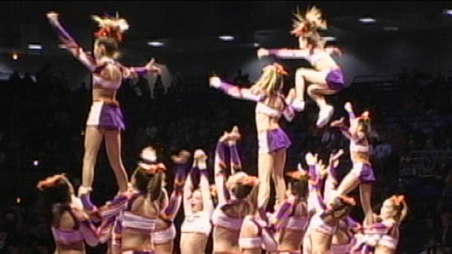 VIDEO: Medical group warns that cheerleaders are in just as much danger as the athletes they root for.